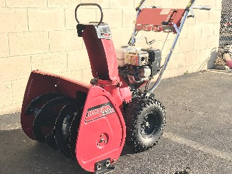 Toro Singlestage Snowblower, snowthrower, snow removal